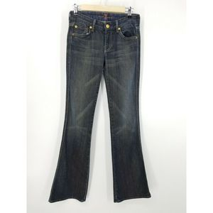 7 For All Mankind A Pocket Boot Cut Jeans 26